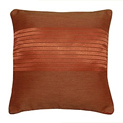 Montgomery - Terracotta 'Arianna' cushion cover