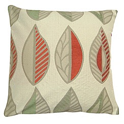 Montgomery - Terracotta 'Kyra' cushion cover