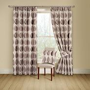 Cassis 'Kyra' lined curtains with pencil heading