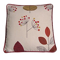 Montgomery - Terracotta 'Cleo' cushion cover