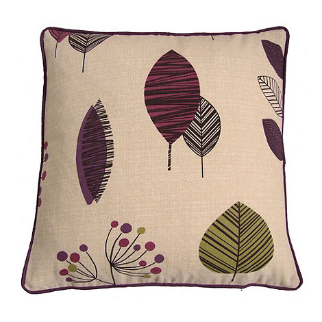 Montgomery - Aubergine +Cleo+ cushion cover