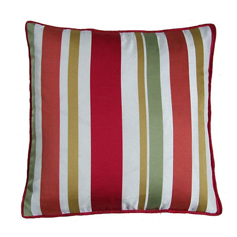 Montgomery - Red 'Festival' cushion cover
