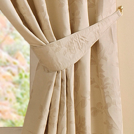 Montgomery - Natural +Willow+ Pair Of Curtain Tiebacks