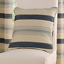 Montgomery - China Blue 'Vintage Stripe' Cushion Cover