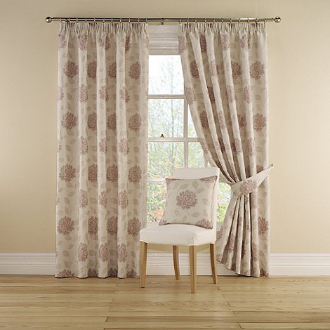 Montgomery - Rose +Myra+ Lined Curtains With Pencil Heading