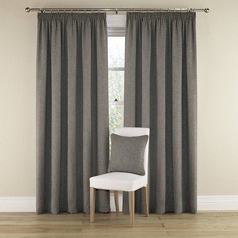 Montgomery - Grey +Harrison+ Lined Curtains With Pencil Heading
