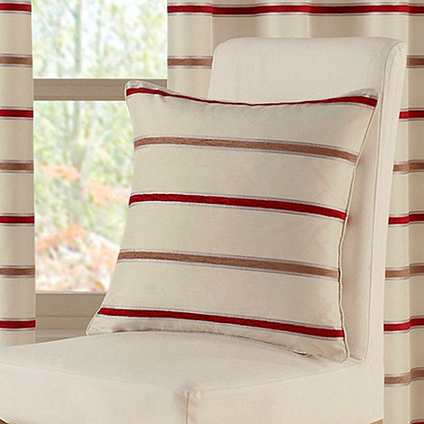 Montgomery - Red +Brighton+ Cushion Cover