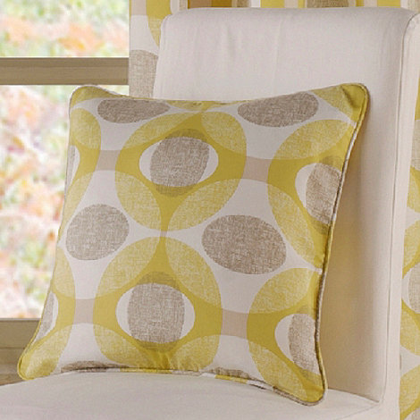 Montgomery - Mustard +Olympic+ cushion cover