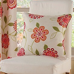 Montgomery - Red 'Rosaline' Cushion Cover