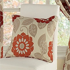 Montgomery - Red 'Annoushka' cushion cover