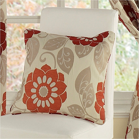 Montgomery - Red +Annoushka+ cushion cover