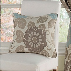 Montgomery - Teal 'Annoushka' cushion covers
