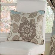Teal 'Annoushka' cushion covers