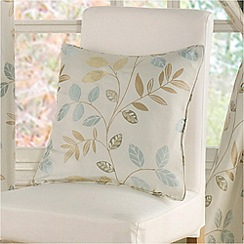 Montgomery - Duck egg 'Clover' cushion cover