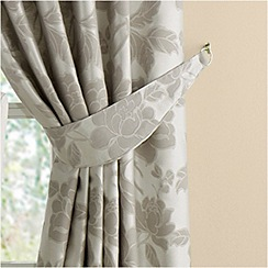 Montgomery - Grey 'Medici' curtain tiebacks