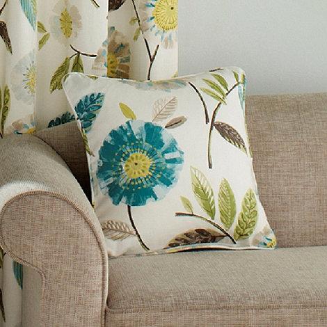 Montgomery - Turquoise +Rivoli+ cushion cover
