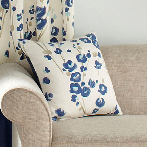 Montgomery - Blue +Wasabi+ cushion cover