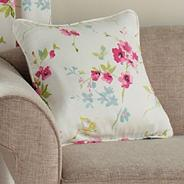 Pink 'Cherry Blossom' cushion cover