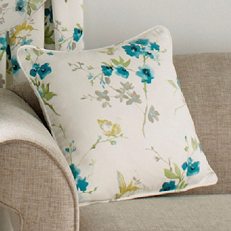 Montgomery - Turquouise +Cherry Blossom+ cushion cover