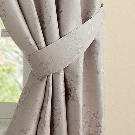 Montgomery - Pearl +Pollen+ pair of curtain tiebacks