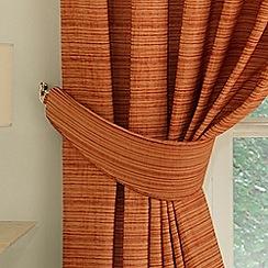 Montgomery - Terracotta 'Balamory' Curtain Tiebacks