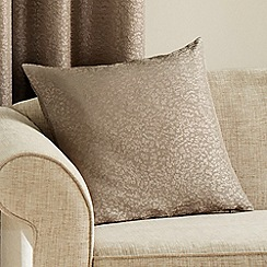 Montgomery - Taupe 'Pebbe' Cushion Cover