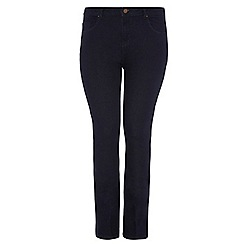 Dorothy Perkins - Dp curve indigo flare jeans