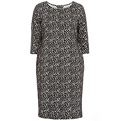 Dorothy Perkins - Curve animal bodycon dress
