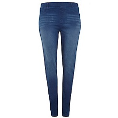 Dorothy Perkins - Billie & Blossom Curve 70's blue jeggings