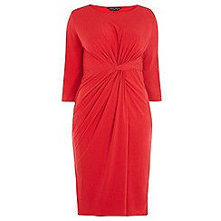 Dorothy Perkins - Dp curve red knot front dress