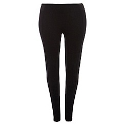 Dorothy Perkins - Curve black side elastic treggings