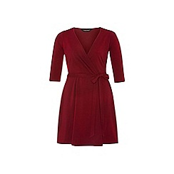 Dorothy Perkins - Dp curve wine wrap dress