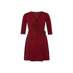 Dorothy Perkins - Dp curve wine wrap dress