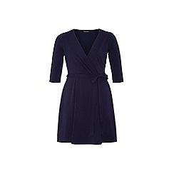 Dorothy Perkins - Dp curve navy wrap dress