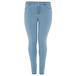 Dorothy Perkins - Dp curve bleach fly front jeggings