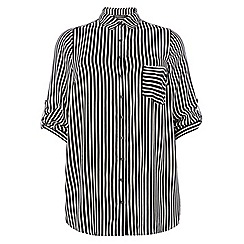 Dorothy Perkins - Dp curve longsleeve longline shirt
