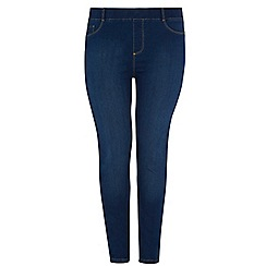 Dorothy Perkins - Dp curve 70's authentic blue jeggings