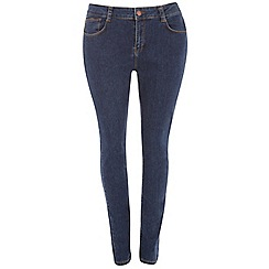 Dorothy Perkins - Curve indigo super stretch jeans