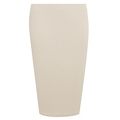 Dorothy Perkins - Curve stone textured pencil skirt