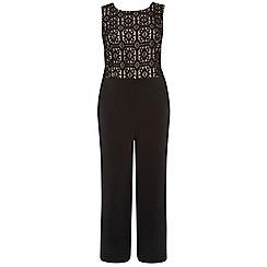 Dorothy Perkins - Dp curve black and mocha tie back jumpsuit
