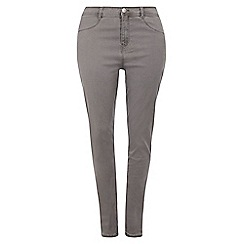 Dorothy Perkins - Dp curve light grey fly front