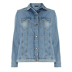 Dorothy Perkins - Dp curve mid-wash denim jacket