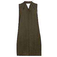 Dorothy Perkins - Dp curve khaki sleeveless key