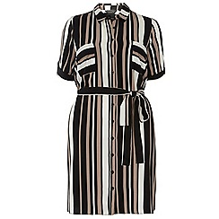Dorothy Perkins - Dp curve neutral stripe shirt