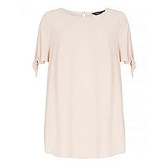 Dorothy Perkins - Dp curve blush cold shoulder blouse