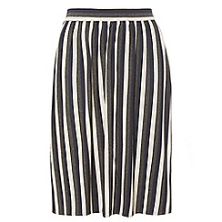 Dorothy Perkins - Dp curve neutral stripe jersey skirt