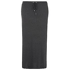 Dorothy Perkins - Dp curve grey marl toggle waist skirt
