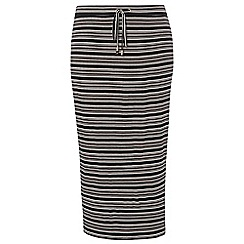 Dorothy Perkins - Dp curve blush stripe tube skirt