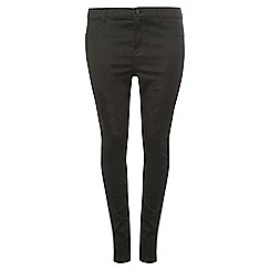 Dorothy Perkins - Dp curve black gold and silver spakly jeans