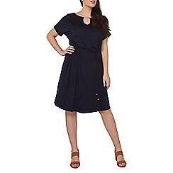 Dorothy Perkins - Curve navy jersey midi dress